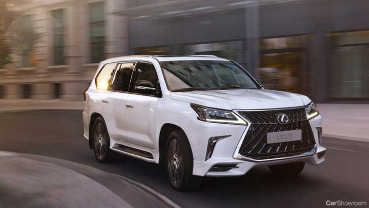 News Lexus Lx Gets Superior For 2018 In Russia Middle East