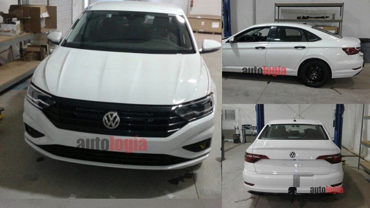 2018 Volkswagen Jetta Found Undisguised In Mexican Factory