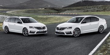 2017 Skoda Octavia RS Arrives, Hotter RS245 In November
