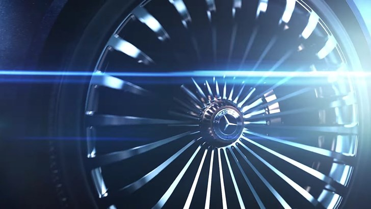 Vision Mercedes-Maybach 6 Convertible Concept Teased