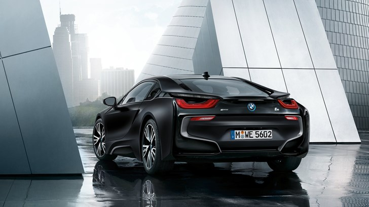 2018 BMW i8 Protonic Frozen Black
