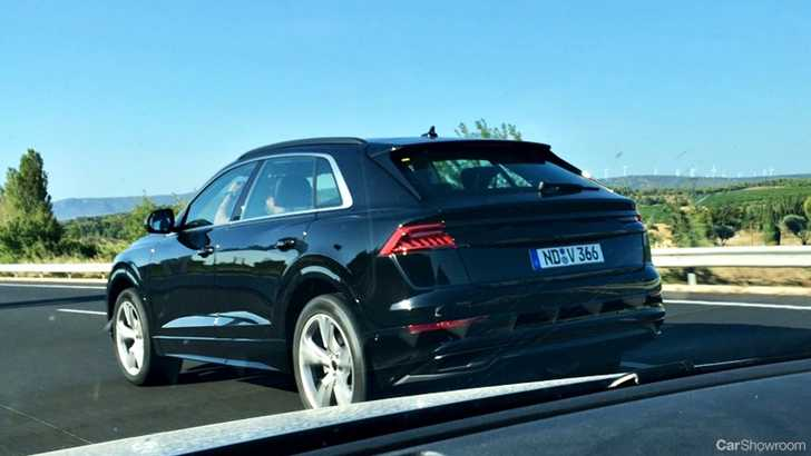 news near ready audi q8 spied undisguised in europe. Black Bedroom Furniture Sets. Home Design Ideas
