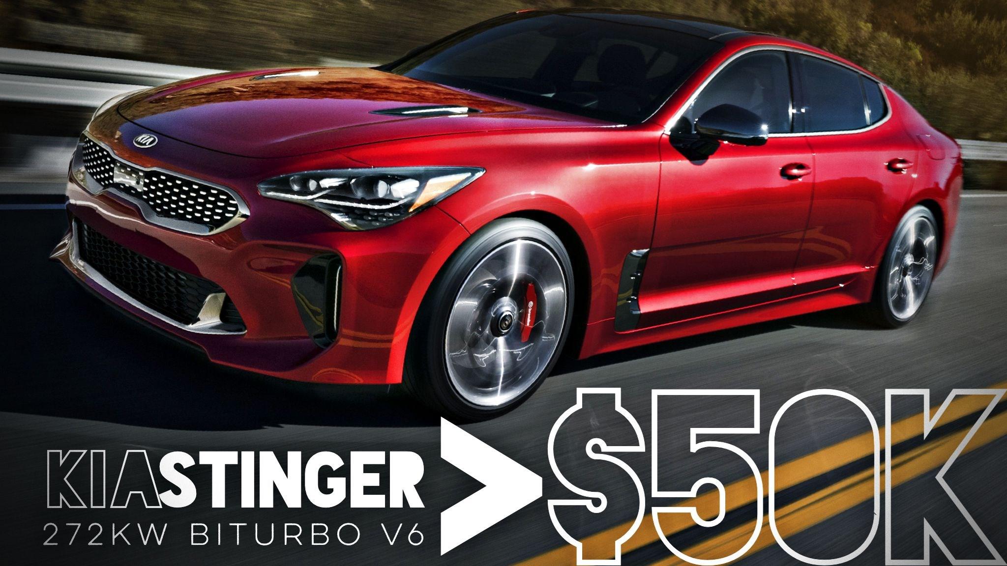 2018 Kia Stinger V6 Priced From $48,990