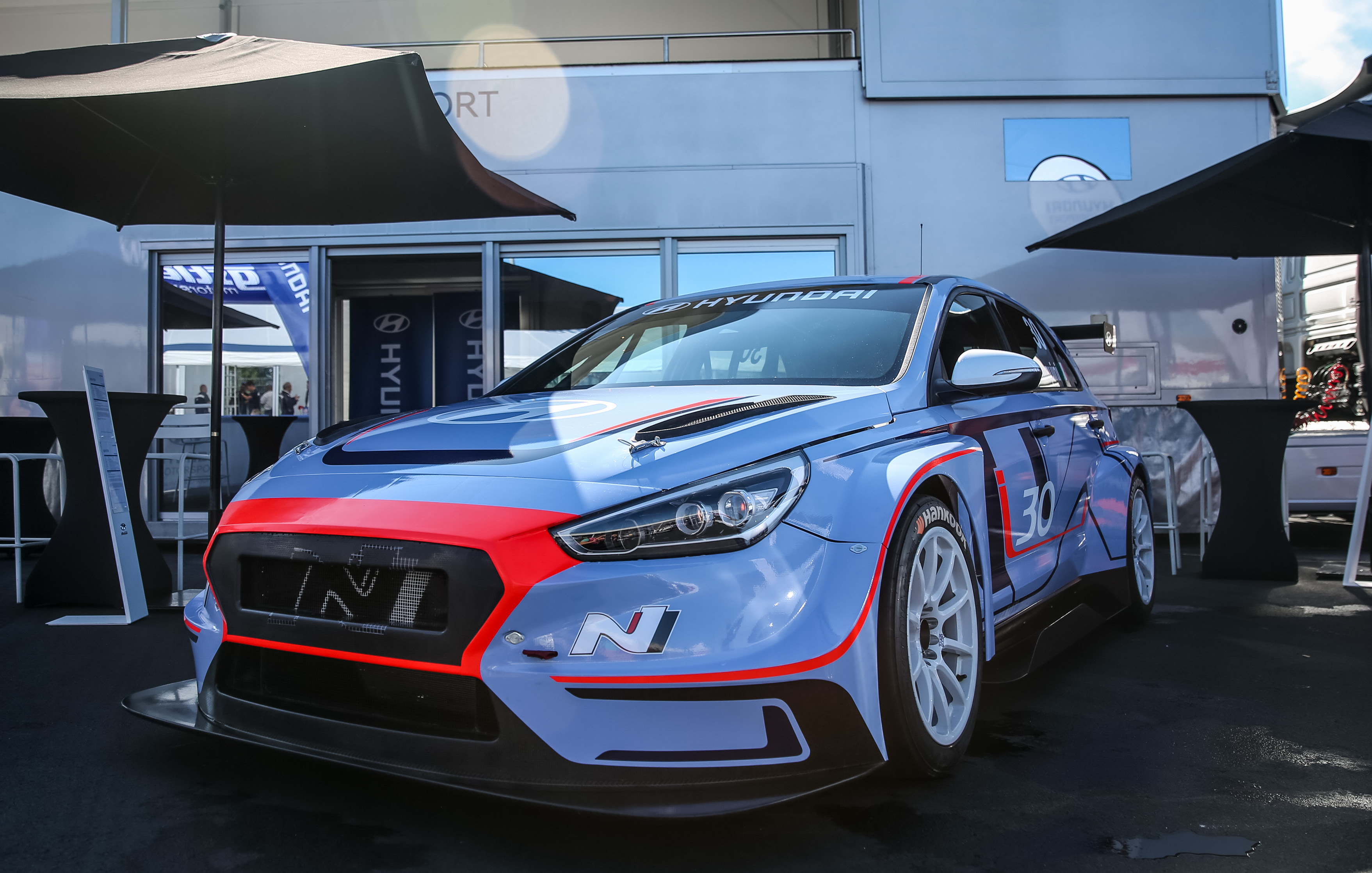 Land Rover Sport >> News - Hyundai Shows Off Race-Spec i30 N TCR At Nurburgring