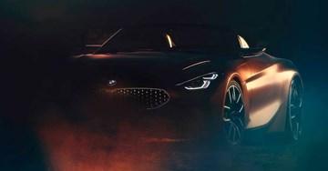 BMW Z4 Concept Teased Ahead Of Pebble Beach