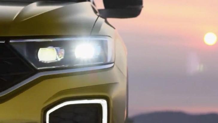 2018 Volkswagen T-Roc Teased, Again