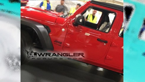 Photo Emerges Of 2019 Jeep Wrangler