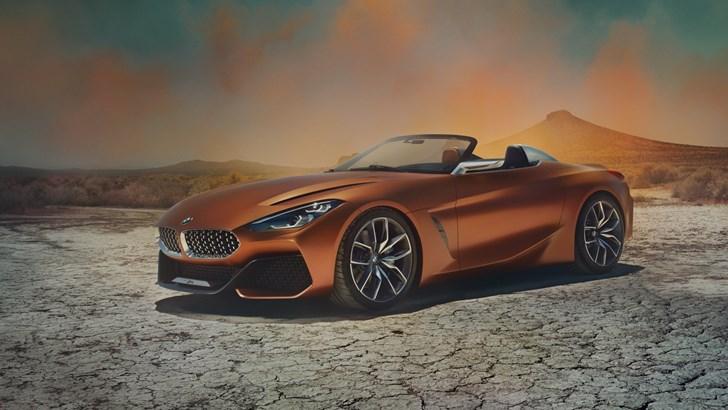 2018 BMW Concept Z4
