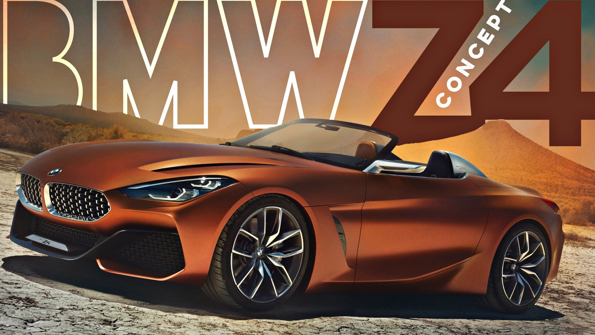 BMW Concept Z4 Unveiled: Roadster Reloaded