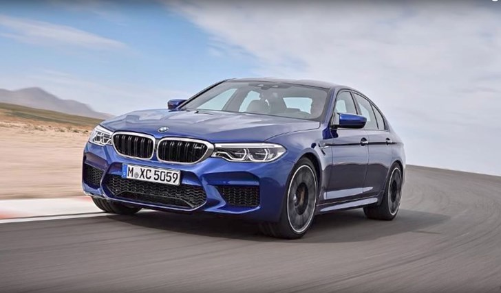 2018 BMW M5 Leaked Ahead Of Full Reveal