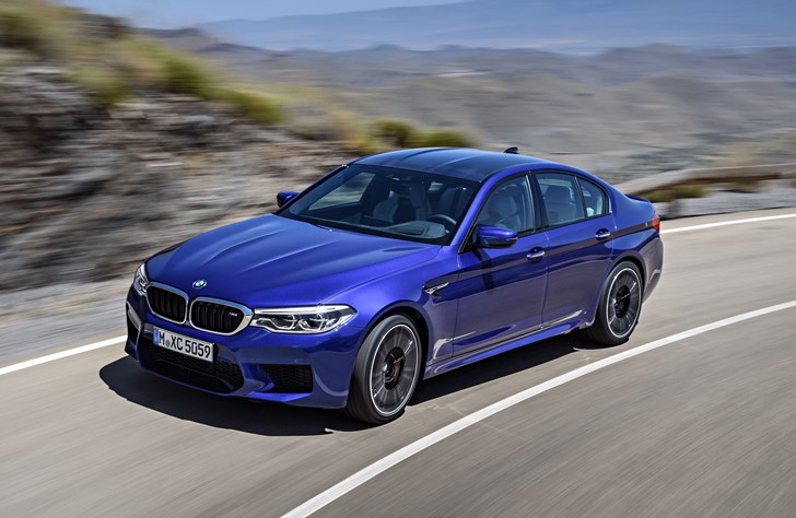2018 BMW M5 - Official
