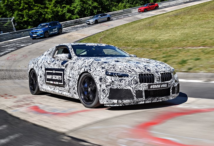BMW M8 Coupe, Convertible To Use 441kW V8 From M5