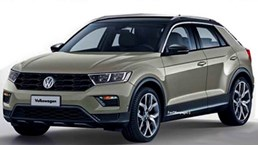 2018 Volkswagen T-Roc Shaping Up Nicely — Report
