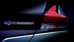 2018 Nissan Leaf Teased Yet Again