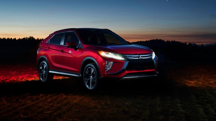 2018 Mitsubishi Eclipse Cross Under The Eclipse