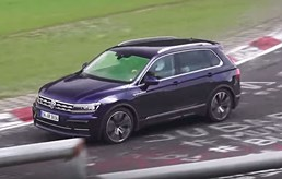 VW Tiguan R Prototype Seen Using Five-Cylinder Turbo