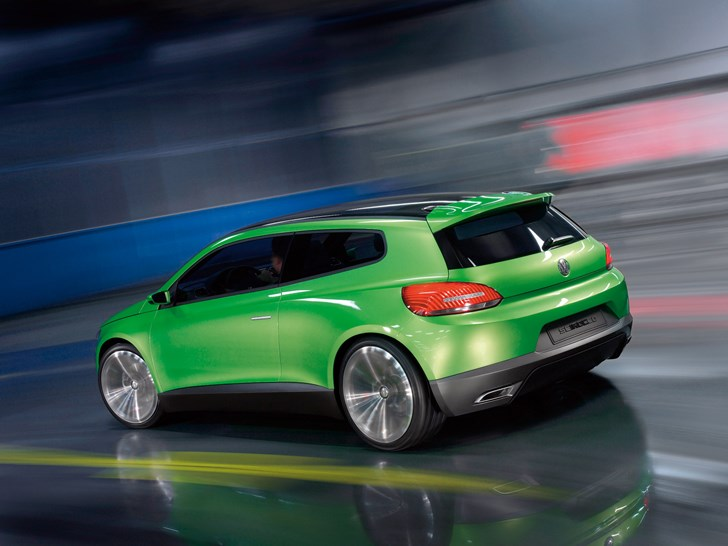 news - volkswagen scirocco to rise again as fast ev coupe