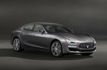 Maserati Reveals Ghibli's 2018 Facelift In GranLusso Trim
