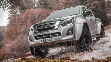 Isuzu Launches D-Max Arctic Trucks AT35 For UK