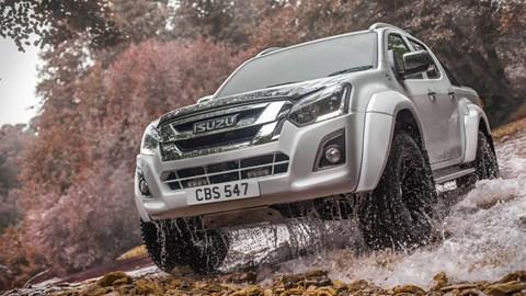 Isuzu Launches D-Max Arctic Trucks AT35 For UK