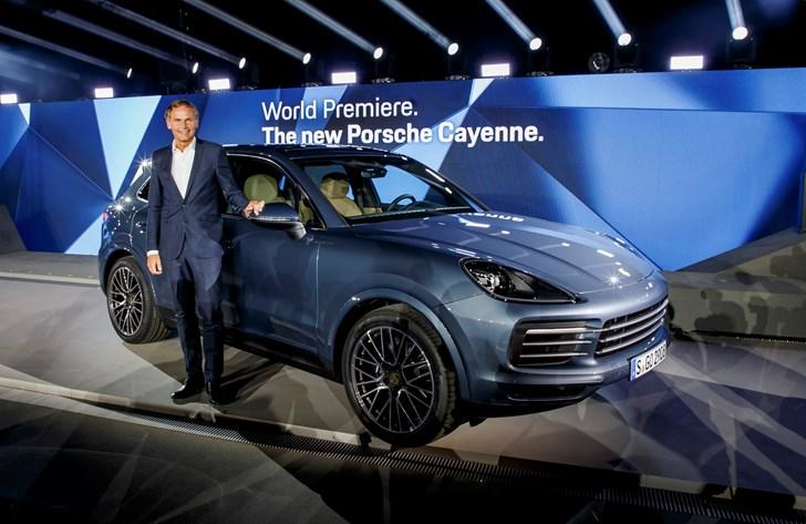 2018 Porsche Cayenne - Initial Launch Images