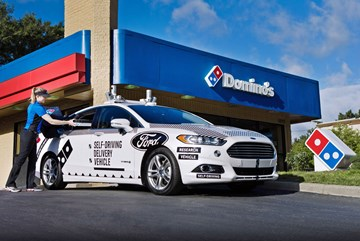 2017 Ford Fusion - Autonomous Research - Domino's Pizza