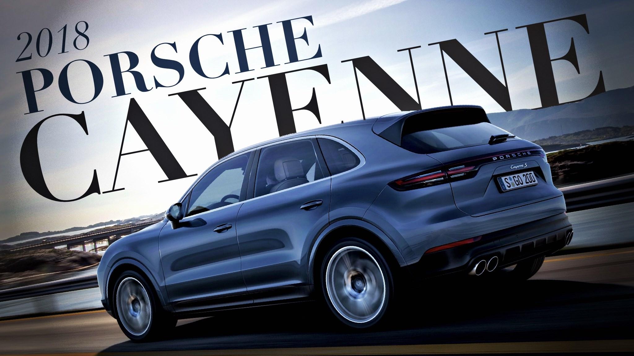 Porsche's Third-Generation Cayenne Debuts In Zuffenhausen