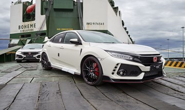 2018 Honda Civic Type R - Port Of Melbourne
