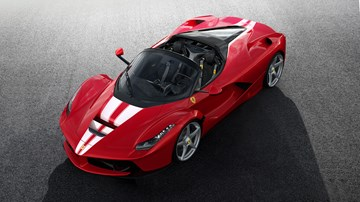 Unique LaFerrari Aperta To Be Auctioned For Charity