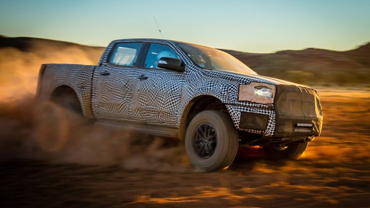 2018 Ford Ranger Raptor Incoming