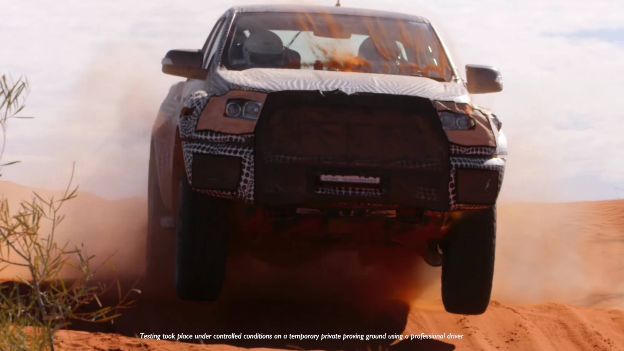 Ford Confirms Ranger Raptor, Here 2018 Thumbnail