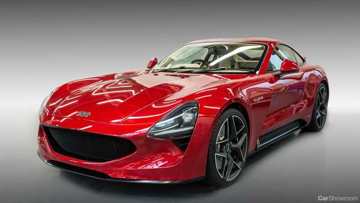 news tvr resurrected with all new v8 powered griffith. Black Bedroom Furniture Sets. Home Design Ideas