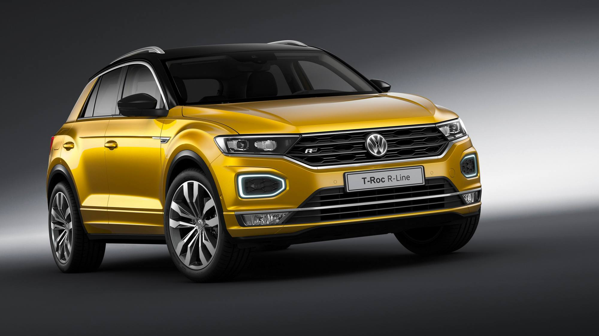 news volkswagen introduces t roc r line details engine range. Black Bedroom Furniture Sets. Home Design Ideas