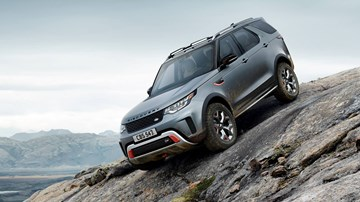 2018 Land Rover Discovery SVX - Frankfurt Motor Show
