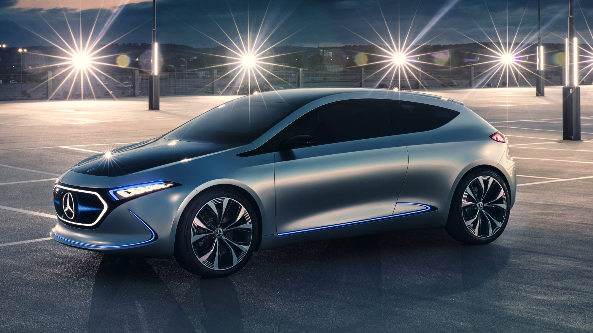 News mercedes benz eqa concept revealed for Mercedes benz future