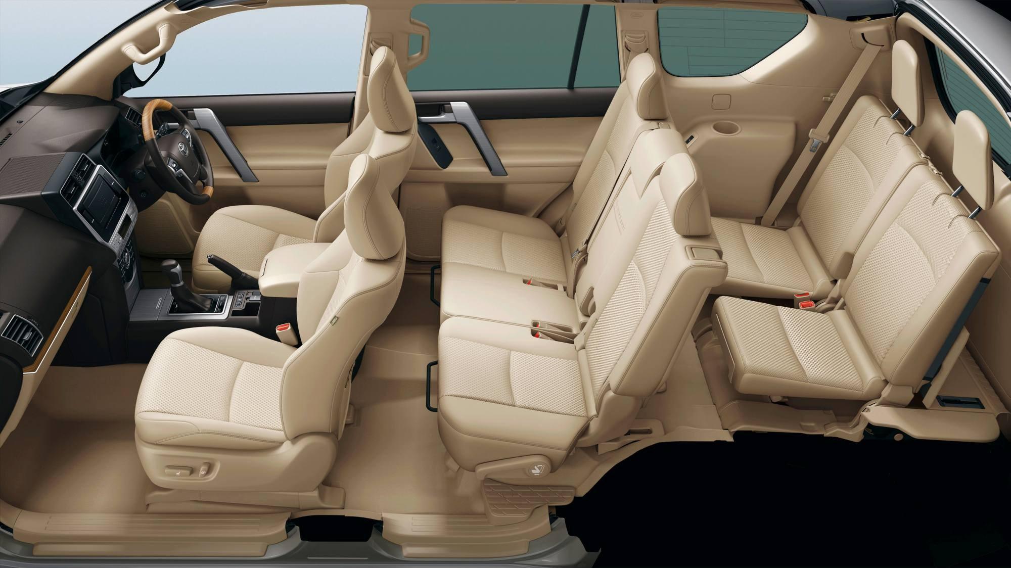 2018 toyota landcruiser sahara. 2018 Toyota Land Cruiser Prado Breaks Cover Landcruiser Sahara