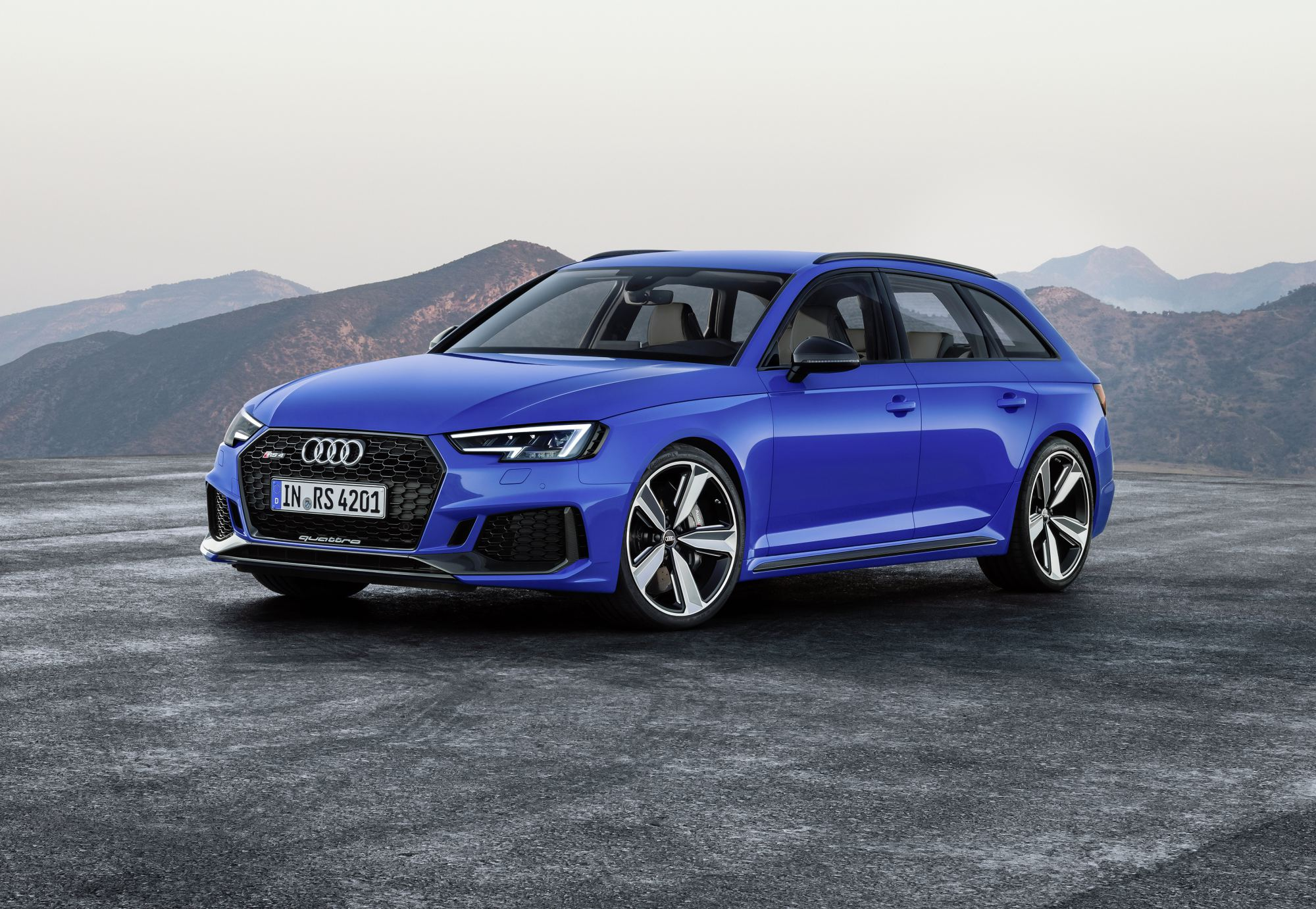 news audi s all new twin turbo rs4 debuts in frankfurt. Black Bedroom Furniture Sets. Home Design Ideas
