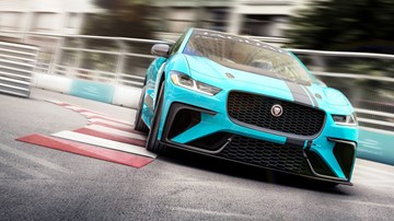 Jaguar Gives I-Pace EV SUV Its Own Racing Series