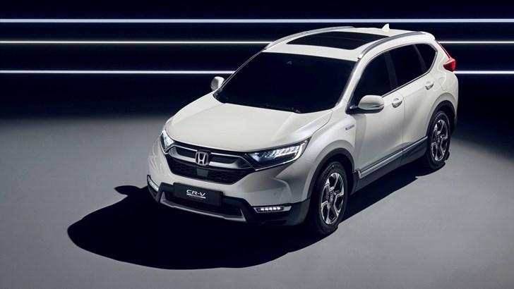 Honda CR-V Hybrid 'Prototype' Debuts In Frankfurt