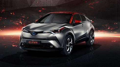 Toyota Rolls Up With C-HR Hy-Power Concept At Frankfurt