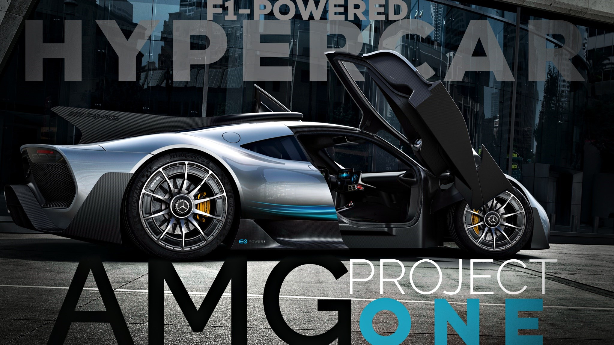 Mercedes-AMG Reveal Project ONE, A True F1-Powered Hypercar