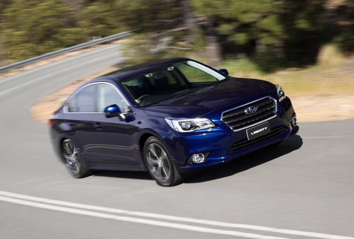 2017 Subaru Liberty - Review
