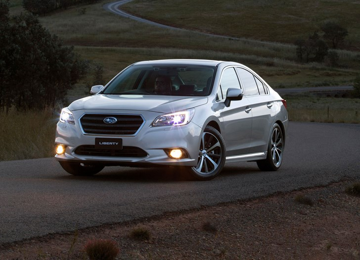 2017 Subaru Liberty - Review