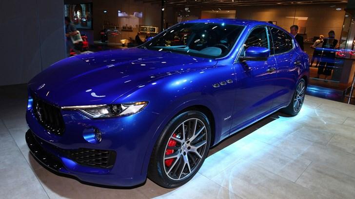 2018 Maserati Levante - Frankfurt Motor Show