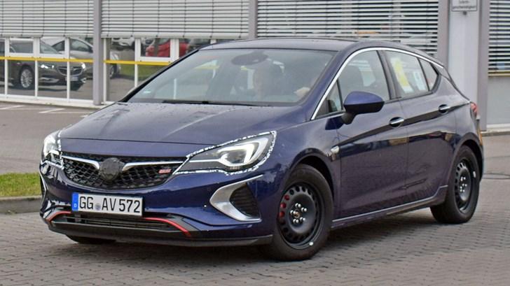 2018 Holden Astra... GSI?