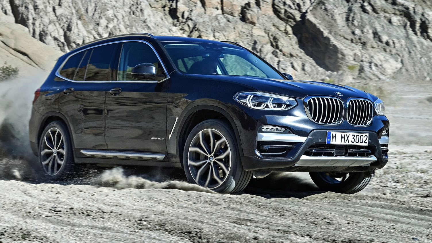 news 2018 bmw x3 detailed ahead of november debut. Black Bedroom Furniture Sets. Home Design Ideas