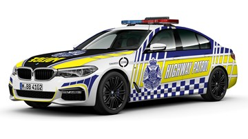 2018 BMW 530d - Victoria Police - Highway Police
