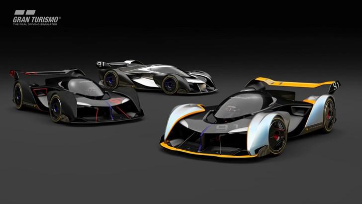 2017 McLaren Ultimate Vision Gran Turismo Concept