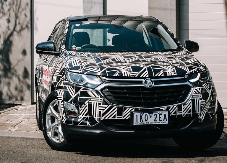 Holden Flaunts Upcoming Equinox On Melbourne Streets
