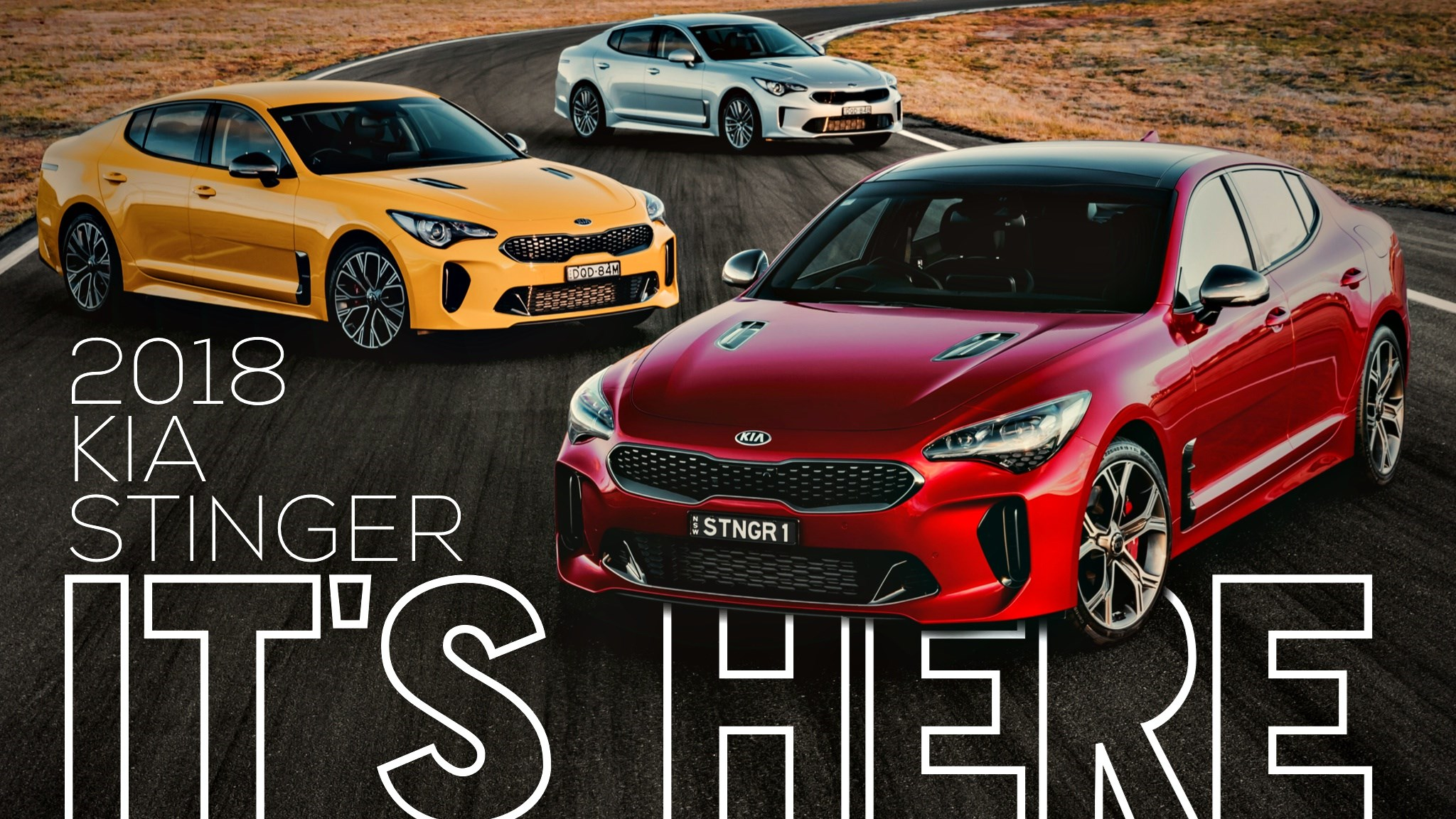 Kia Australia Reveals 2018 Stinger Range In Full